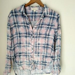 Anthropologie Cloth and Stone bbutton down shirt